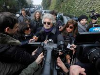 Five Stars movement's leader and former comedian Beppe Grillo