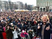 ITALY-POLITICS-VOTE-GRILLO-RALLY