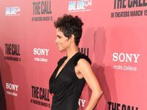 Halle Berry on March 5 at the premiere of The Call