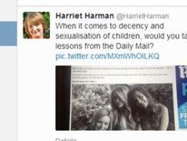 Harriet Harman tweet