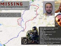 A poster put up on the Help Find Harry Facebook page showing his likely route