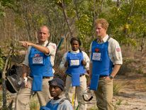 Prince Harry on HALO Trust trip to Angola