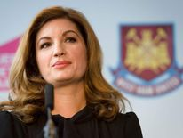 Karren Brady's CBE is for services to entrepreneurship and women in business