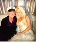 Hugh and Crystal Hefner (Pic Hugh Hefner)