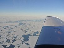 Jack Wiegand's view flying over Canada