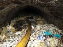 Fatberg blocks sewer in Shepherds Bush