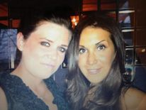 Janee Parsons and friend Antonia Mariconda