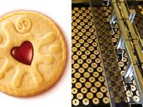 Jammy Dodger biscuit