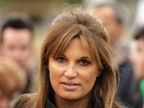 Writer and campaigner Jemima Khan at the Antiwar Assembly In London