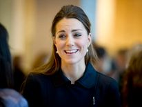The Duchess of Cambridge attends a forum for the charity Place2Be