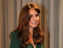 The Duchess of Cambridge at the BBC's Sports Personality of the Year Awards.