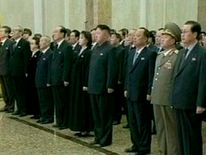 Ri Sul-joo next to her husband Kim Jong-un