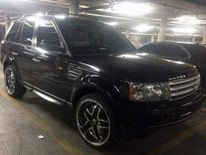 The black Range Rover found on Saturday