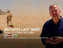 Watch the documentary, Britain's Last War, tonight on Sky News at 3.30pm and 8.30pm.