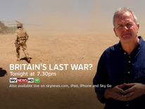 Watch the documentary, Britain's Last War, tonight on Sky News at 7.30pm.