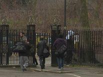 Inmates leaving prison