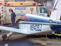 Small plane makes emergency landing on Bronx highway