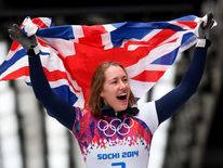 Lizzy Yarnold's gold medal in the skeleton kept up an impressive British record in the sport.