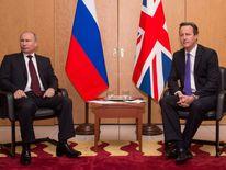 Cameron meets Putin