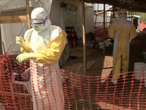 A restricted area for Ebola patients