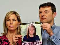 Madeleine McCann missing