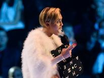 Miley Cyrus at MTV EMAs