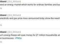 Miliband Energy Tweets