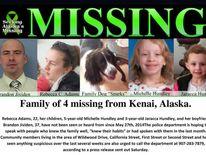Missing Alaska Family