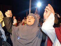 Naglaa Ali Mahmoud, wife of ex President Mohamed Morsi