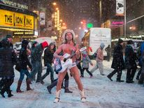Robert Burck, also known as the 'Naked Cowboy'