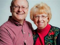 Nancy Writebol and her husband, David pic: Samaritan's Purse