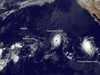 Hawaii Braces For Hurricanes