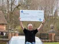 Euromillions lottery jackpot winner Neil Trotter