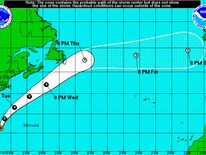 weakening Hurricane Bertha could be heading for UK