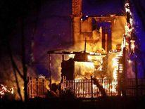 Laerdalsoyri village fire
