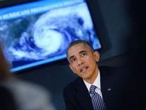 President Obama Visits FEMA Headquarters