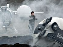 Tom Cruise stars in Oblivion
