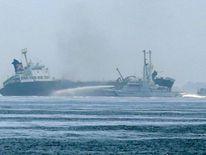 Japan oil tanker explosion