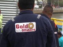 An oil worker in the fishing village of Macae, Brazil