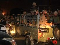 Soldiers at Karachi airport