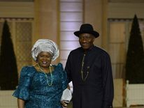 Patience and Goodluck Jonathan
