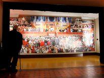 Sir Peter Blake mural unveiling - London