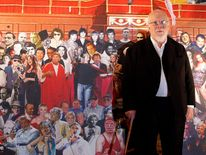 Sir Peter Blake mural unveiling - London