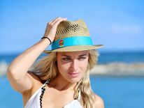 Reeva Steenkamp on set of reality TV show Tropika Island of Treasure (Pic: Stimulii)