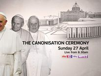 Watch live coverage from Rome of the canonisation ceremony on Sunday, April 27