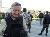 Stuart Ramsay at the Belbek air force base