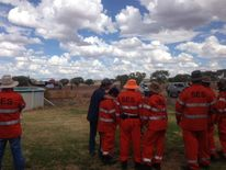 Outback rescuers