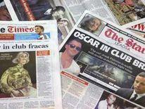 Oscar Pistorius in club brawl