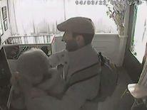 A still of the DEVON robbery CCTV footage.