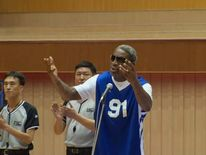Dennis Rodman sings Happy Birthday to Kim Jong-Un